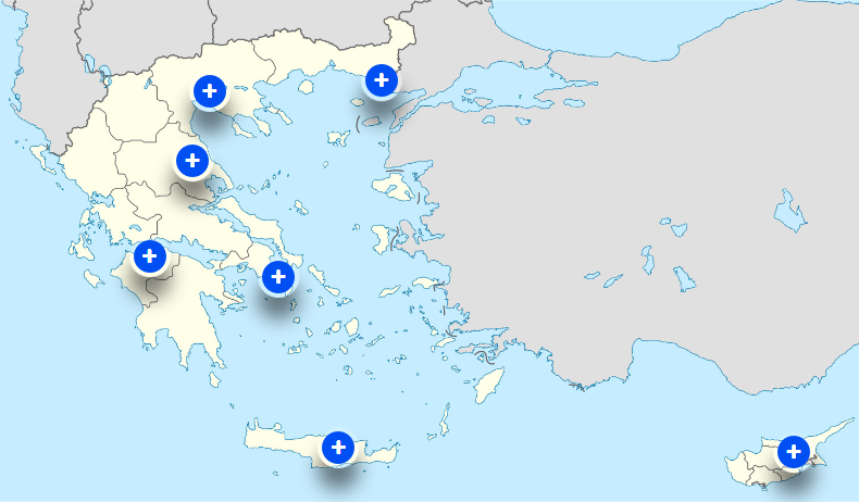 7 Technical Service Points in Greece and Cyprus